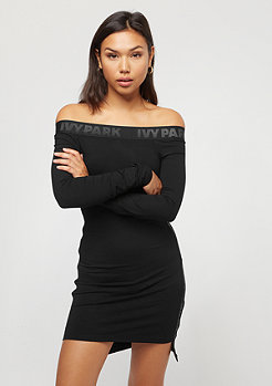 IVY PARK Bardot Bodycon Dress black