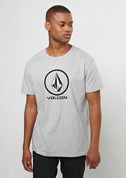 Volcom T-Shirt Circlestone BSC heather grey