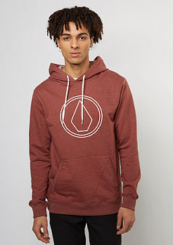 Volcom Hooded-Sweatshirt Stone red