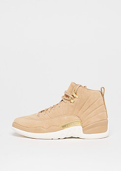 Jordan Wmns Air Jordan 12 Retro vachetta tan/metallic gold-sail