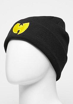 Wu-Wear Beanie Wu-Logo black/yellow