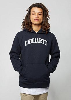 Hooded-Sweatshirt Yale navy/white