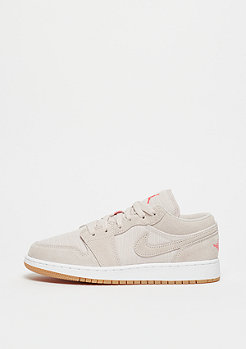 JORDAN Air Jordan 1 Low GS desert sand/white-gum yellow-infrared 23