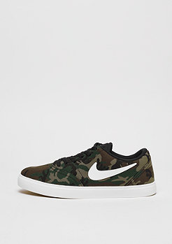 NIKE SB Check Premium GS black/summit white-medium olive