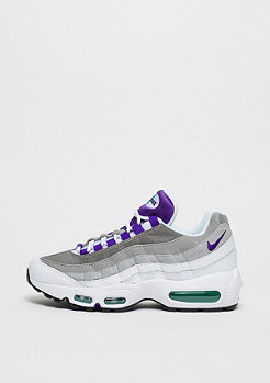 NIKE Air Max 95 white/court purple-emerald green