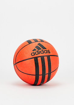 adidas Basketball 3 Stripes Mini orange