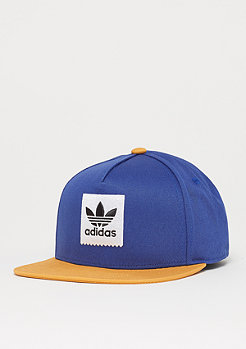 adidas Skateboarding 2 Tone Snapback collegiate navy/tactile yellow