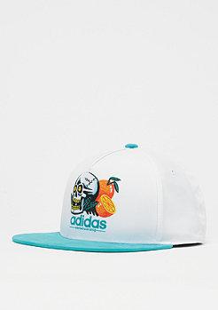 adidas Skateboarding Oranges & Skull white/shock green