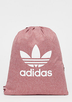 adidas Trefoil Gym Casual collegiate burgundy/white