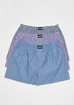 SNIPES 3er Boxer Cuffed plaid III