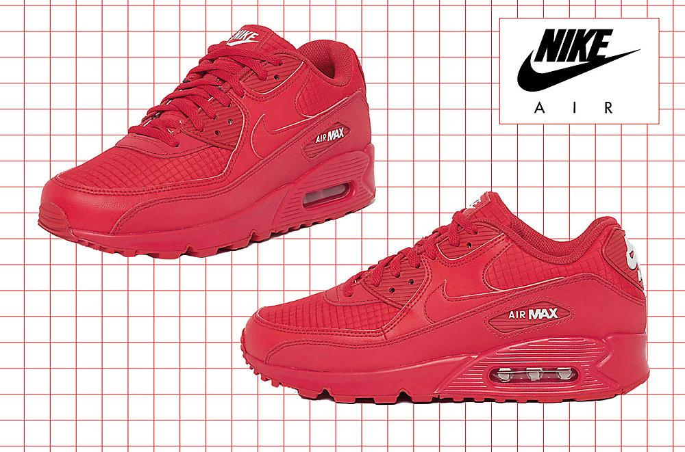 Schoenen 2015 Air Kopen Max Rood Heren Running Nike Zwart