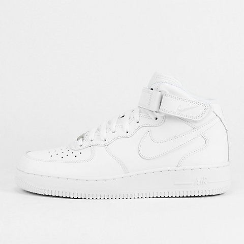 best loved 7f2c8 cd368 NIKE Basketballschuh Air Force 1 07 Mid white white