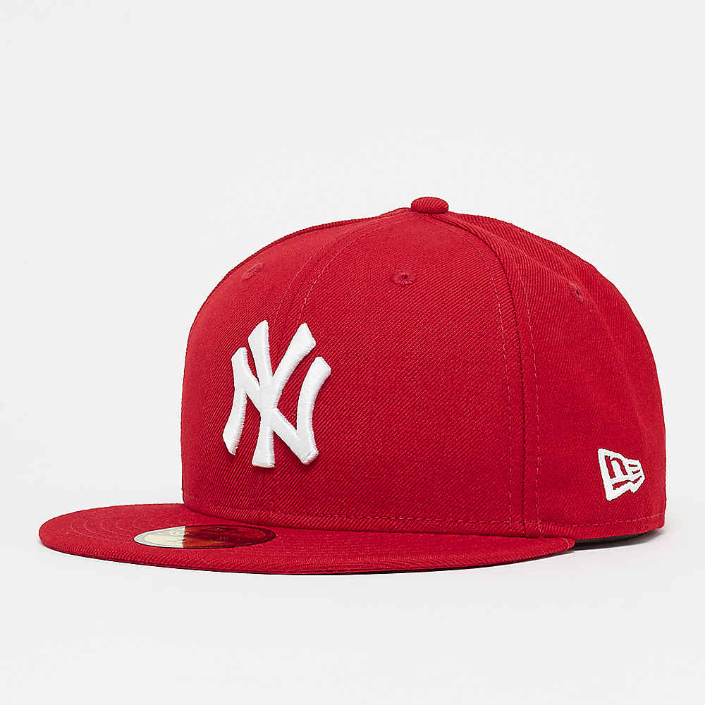 Compra New Era MLB Basic New York Yankees scarlet Gorras Fitted en SNIPES 8425465f846
