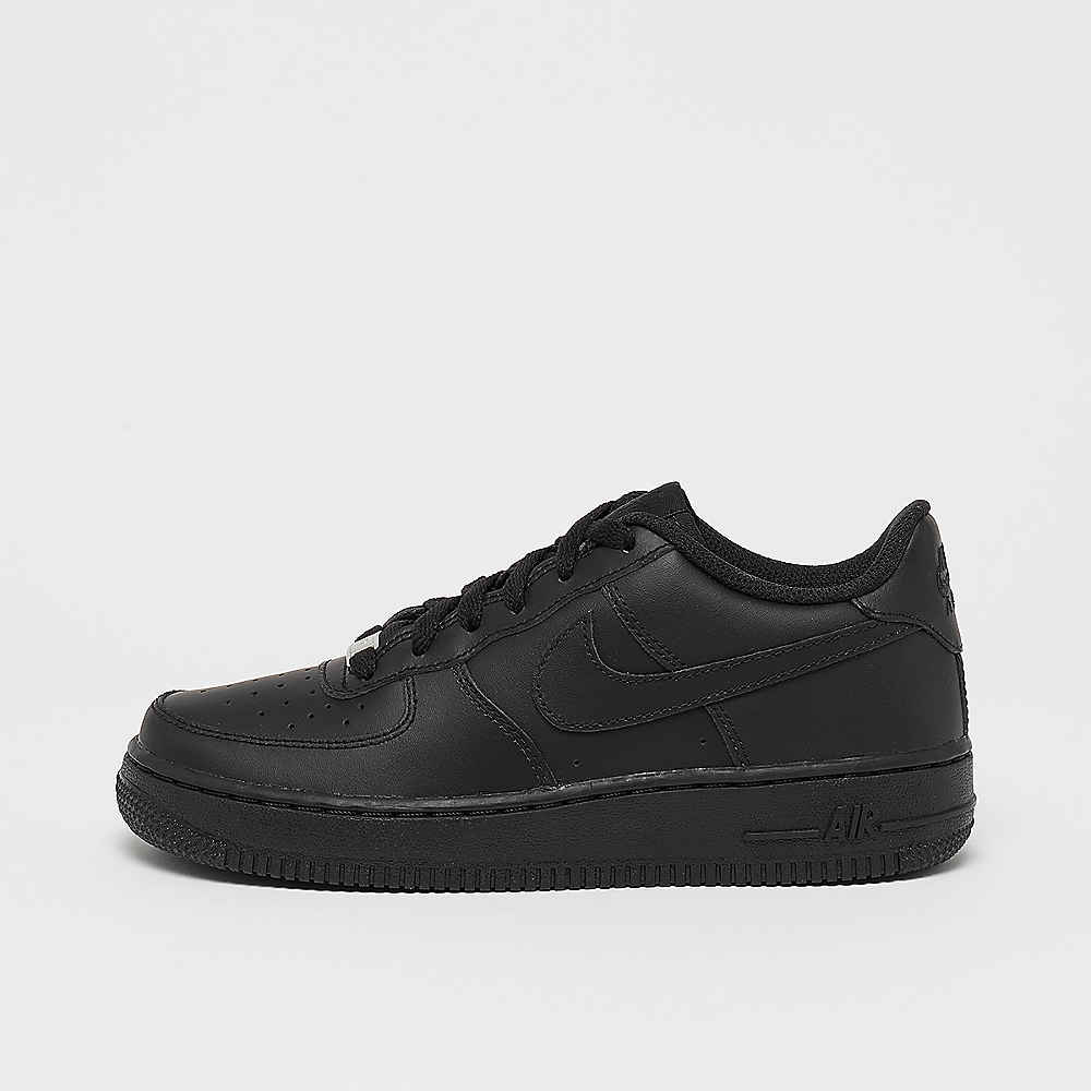 07e23282498 NIKE Air Force 1 Low (GS) black/black Sneakers bij SNIPES bestellen