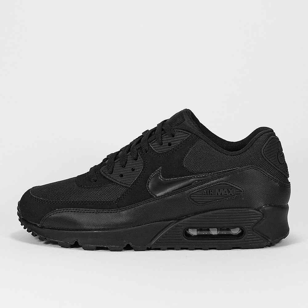 Nike Air Max 90 Herren Schwarz Weiß Silber Sale