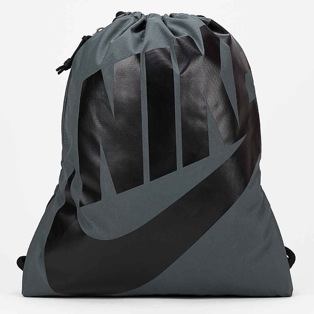 8d01f81b57d76 NIKE Heritage dark grey black black Beutel bei SNIPES bestellen