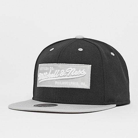 aa27ade7 Mitchell & Ness. Box Logo black/grey