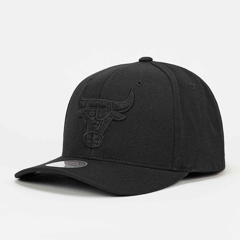 dernière collection  usine authentique NBA Casquette Snapback 110 Chicago Bulls black