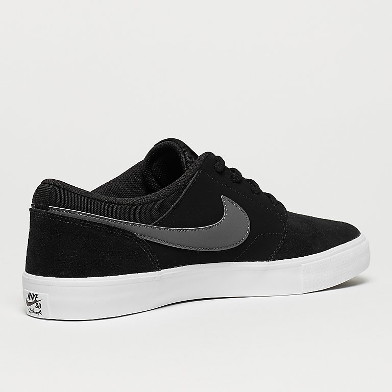 check out 07a12 b27ed NIKE SB Solarsoft Portmore II black/dark grey/white Sneakers bij SNIPES  bestellen