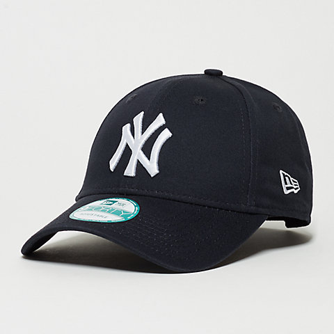 a2d51dd5fab8f New Era. Baseball-Cap 9Forty League Basic MLB New York Yankees navy white