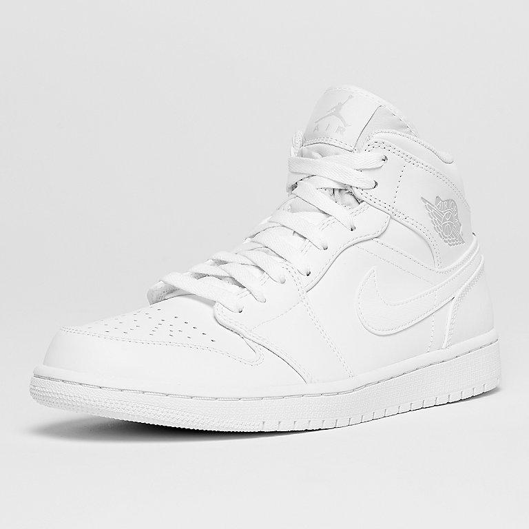 f31f547d812 JORDAN Air Jordan 1 Mid white/pure platinum/white Sneakers bij SNIPES  bestellen