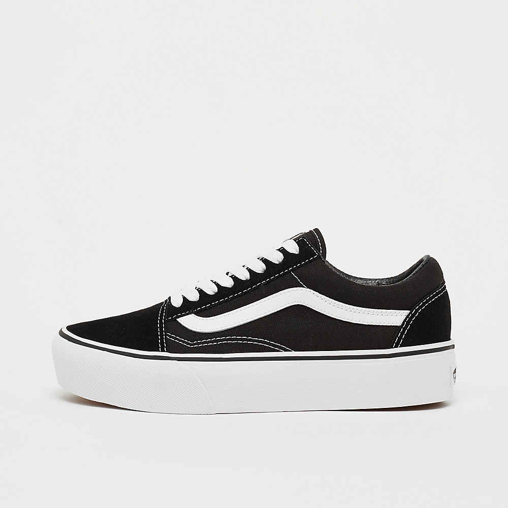 vans old skool black damen platform