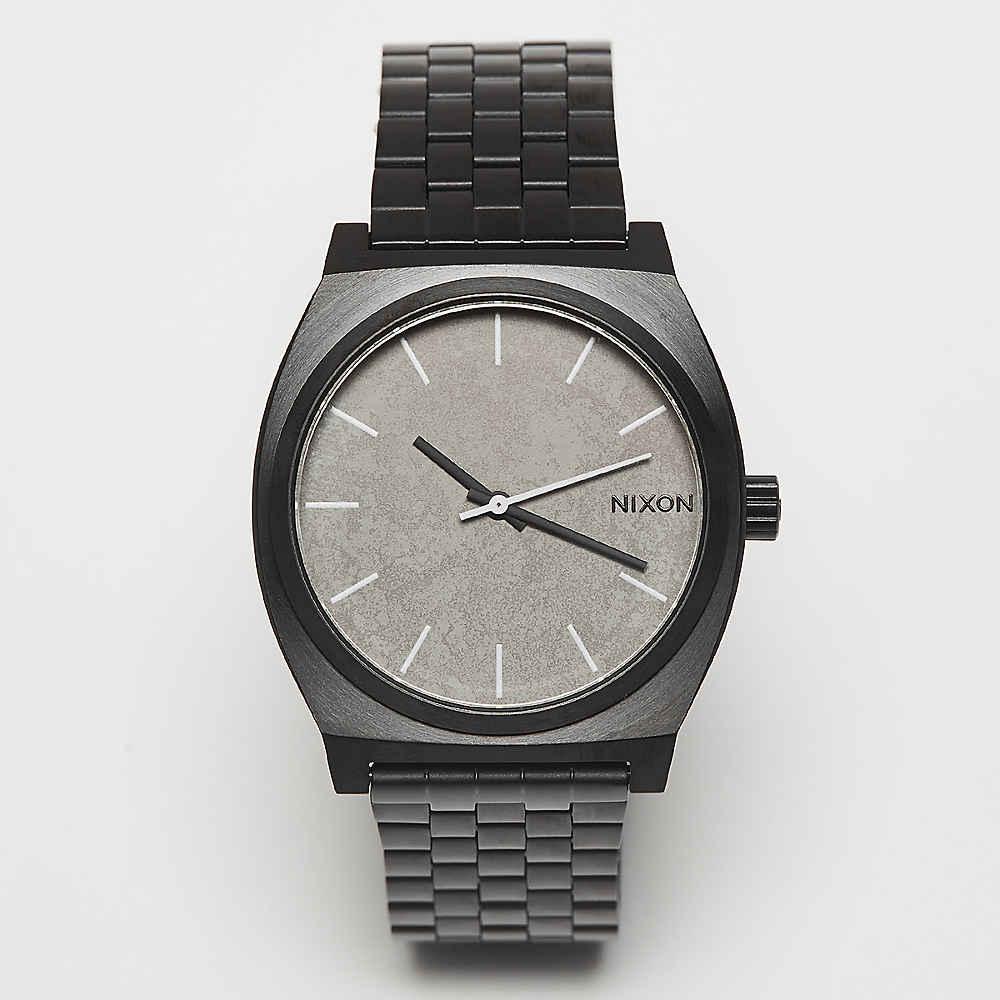 eb8199d70821 Reloj de pulsera Nixon Time Teller black concrete en SNIPES