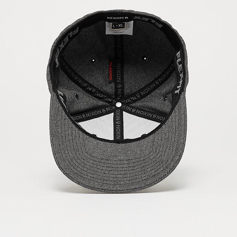 389f7bc6b Nixon Deep Down Athletic Textured gunmetal/white Baseball Caps bij SNIPES  bestellen