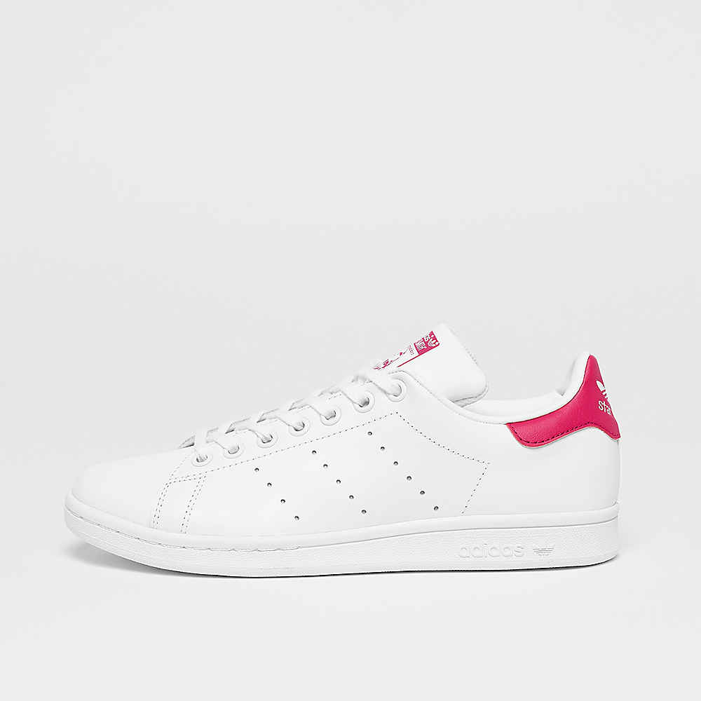 Stan Smith Lea white/white/bold pink