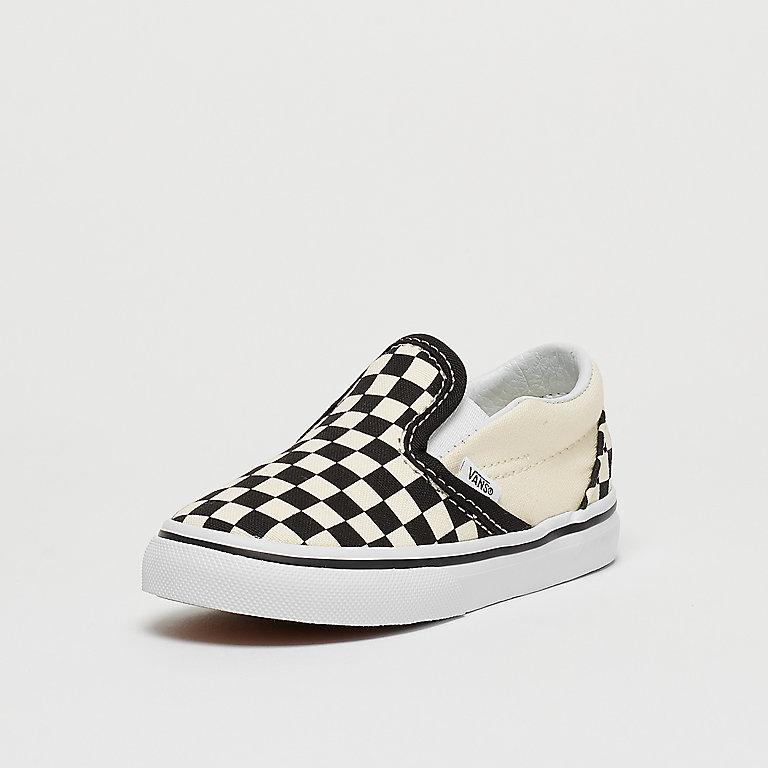 vans td classic slip on checkerboard