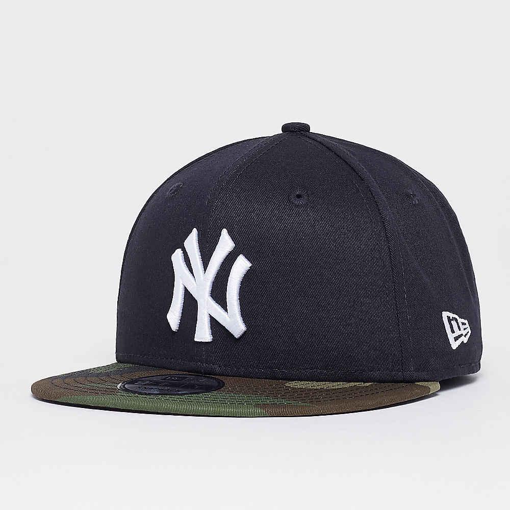 Compra New Era 9Fifty MLB New York Yankees Team Camo navy woodland camo  Gorras Snapback en SNIPES e405f2c78f1