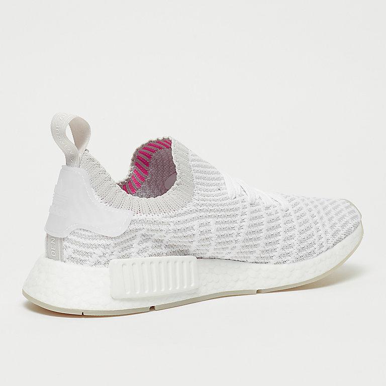 buy online e2c99 3f7b8 adidas NMD R1 STLT PK ftwr whitegreyonesolar pink Sneakers bij SNIPES  bestellen