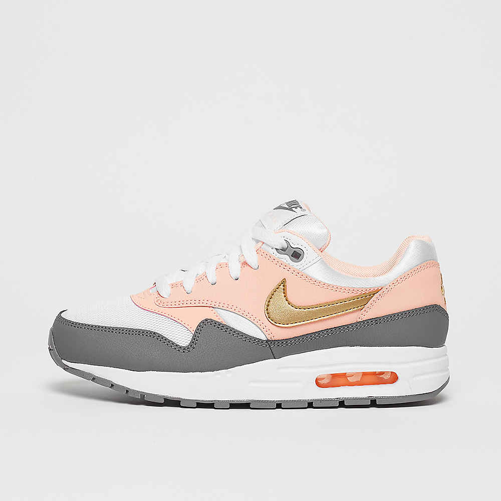 premium selection 28bcb a5f01 Commander NIKE Air Max 1 (GS) white metallic gold-gunsmoke Running chez  SNIPES