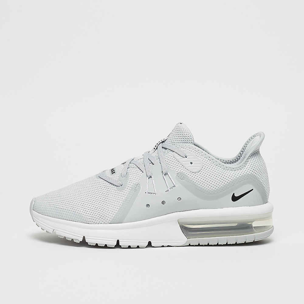 pretty nice 9f7e0 9cc44 Commander NIKE Running Air Max Sequent 3 (GS) pure platinum black-white-loup  gris chez SNIPES