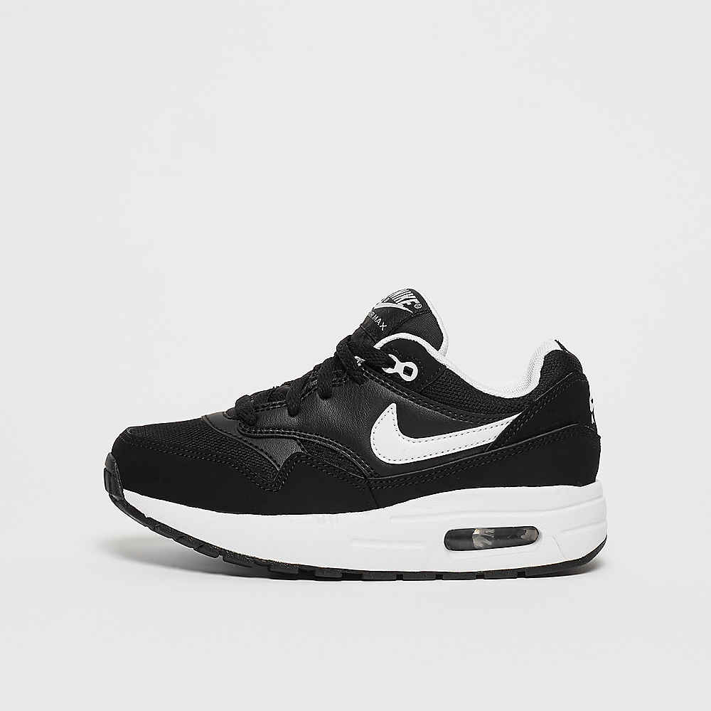 4c2b764ffd92 Commander NIKE Air Max 1 (PS) black white chez SNIPES