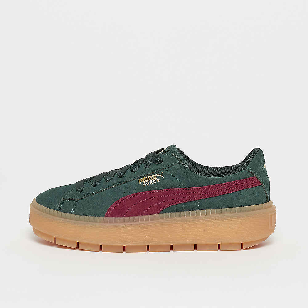 save off 1f6ce a7349 Platform Trace green gables-cordovan gum8-gold