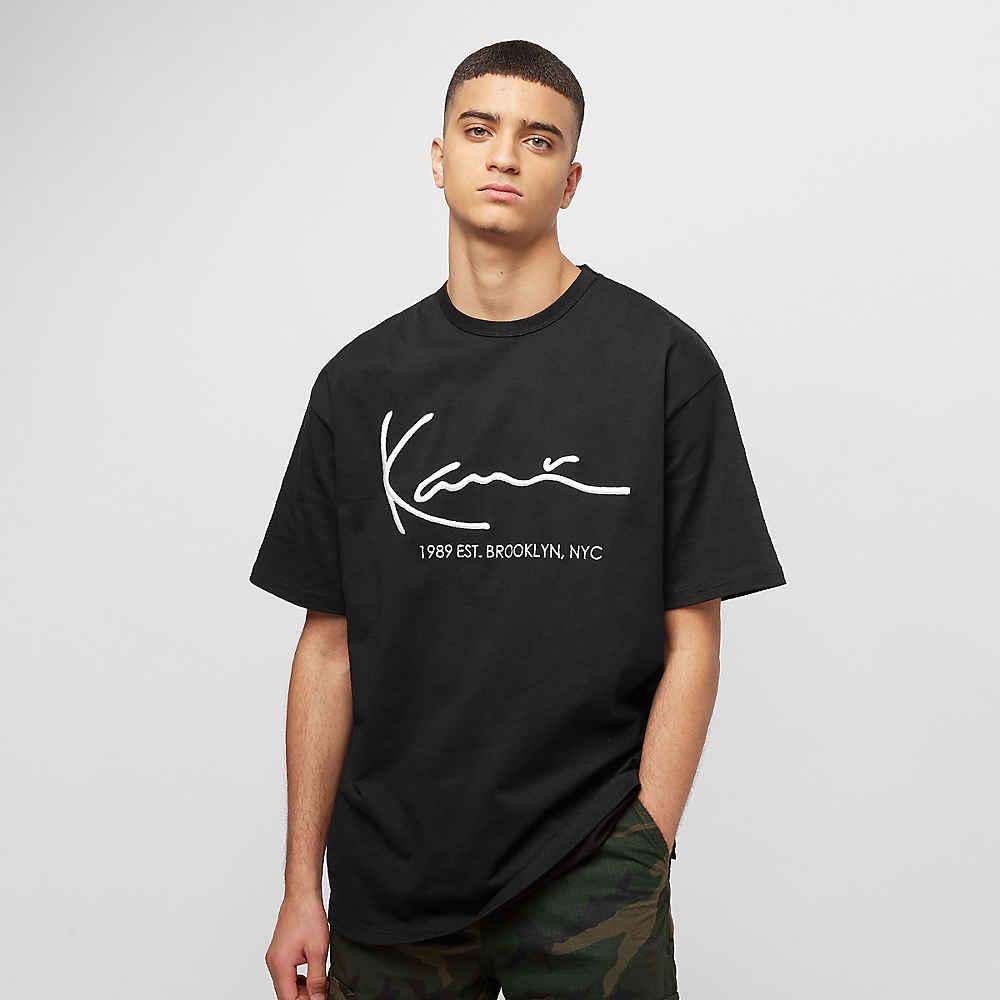 b1a5a736bc0200 Retro black T-Shirt von Karl Kani bei SNIPES bestellen!