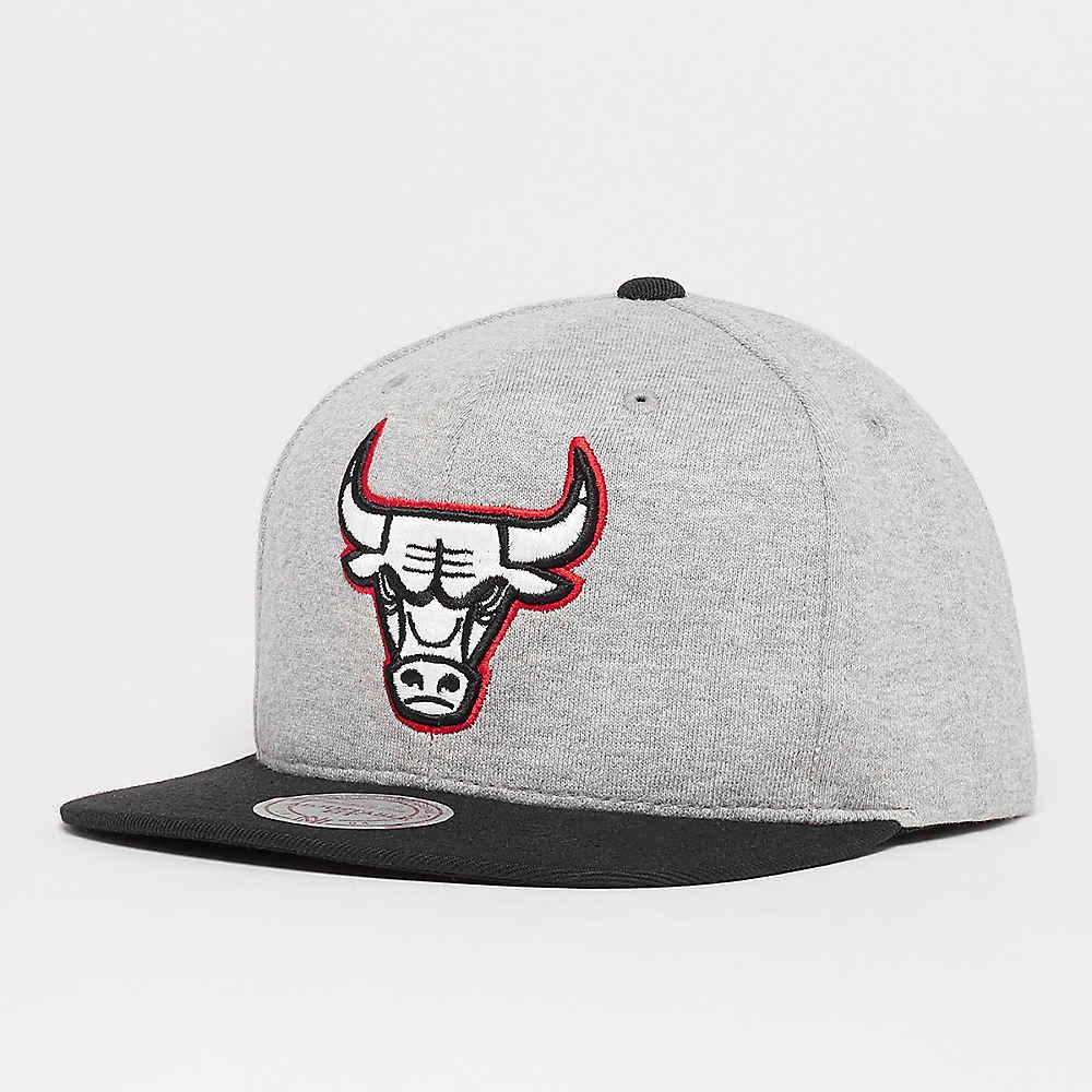 Gorra Mitchell   Ness Jersey Chicago Bulls de color gris en SNIPES 1ee6271444b