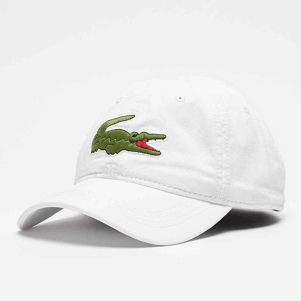 432abd29b8466 Compra ahora la gorra de béisbol 1 white con logo de Lacoste en SNIPES