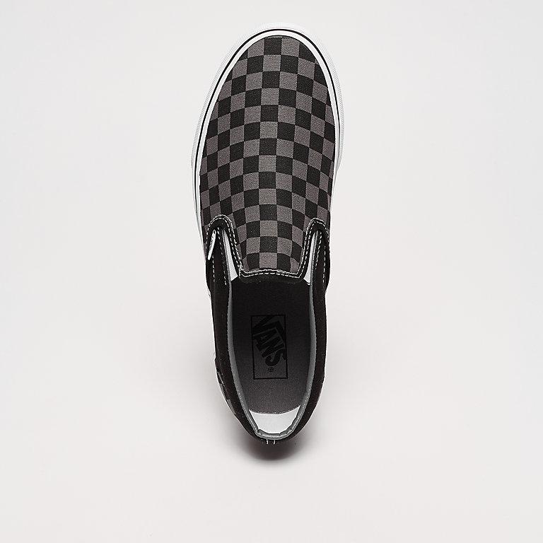 779f5d87e1 VANS UA Classic Slip-On (Checkerboard) black pewter checkerboard ...