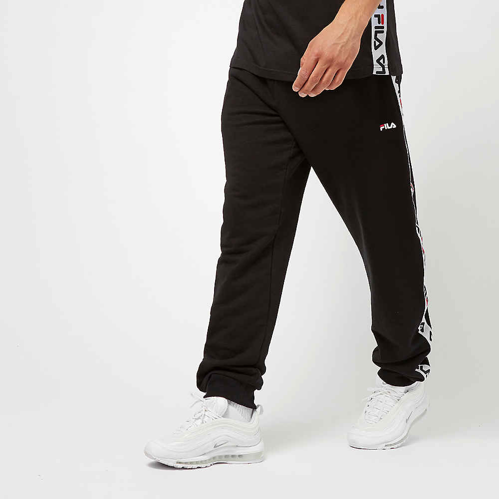 f06e06717b1 Fila FILA Urban Line Tadeo Tape Sweat Pants black bij SNIPES bestellen