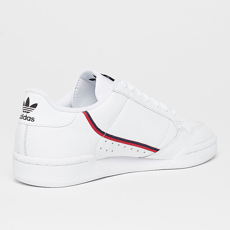 adidas Continental 80s ftwr white/scarlet/colle Fashion bij ...