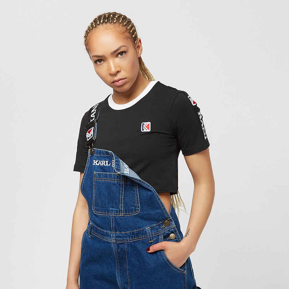 Camiseta Karl Kani Tape Cropped en SNIPES cd834fa09bd