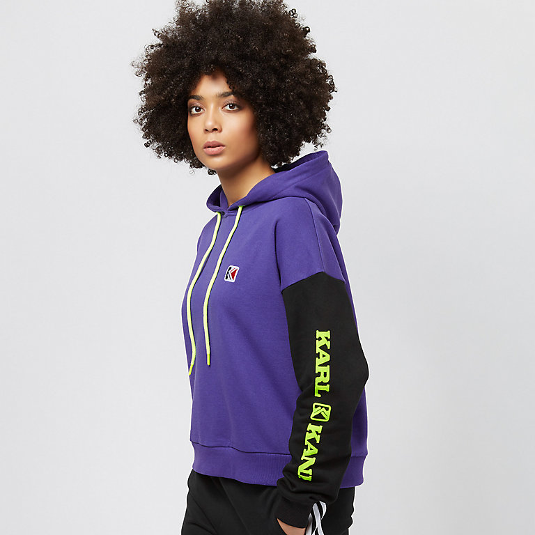 0d0ae3139c07a Compra Karl Kani Retro Block purple black yellow Hoodies en SNIPES