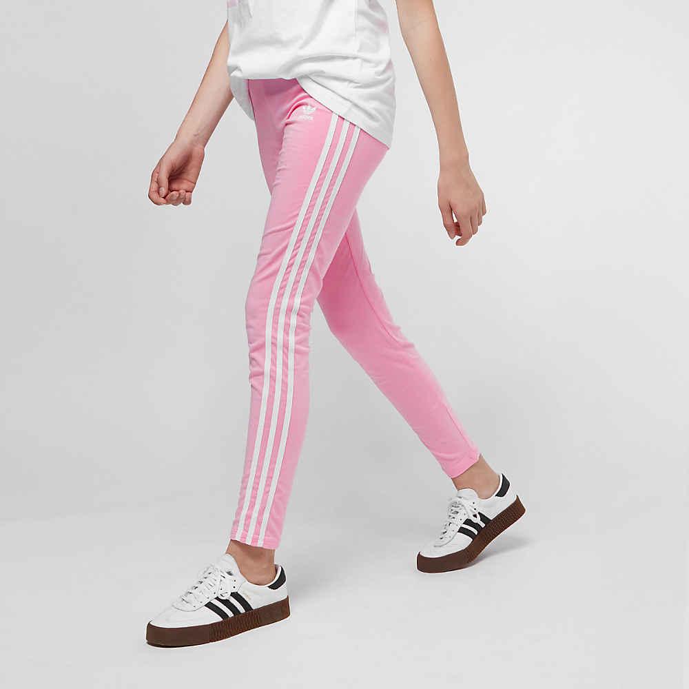 be6bf81956111c adidas J 3 Stripes light pink/white Leggings bij SNIPES bestellen