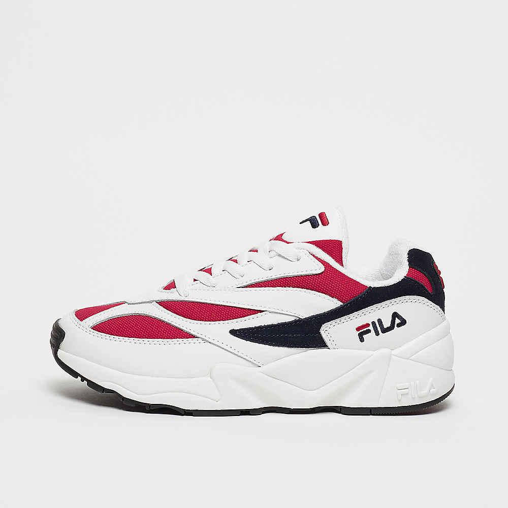 FILA V94M WMN Heritage Low White/FILA Navy/FILA Red