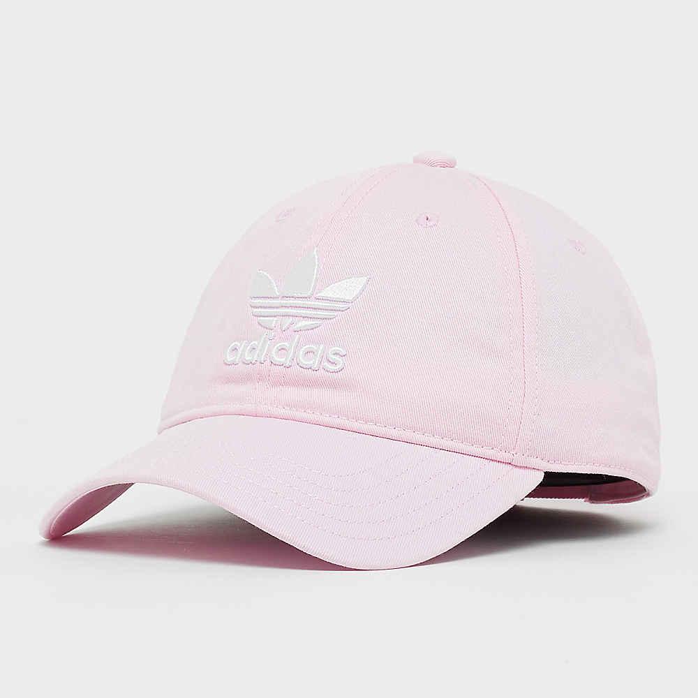 9997fd72198 adidas Trefoil Classic Cap clear pink white Baseball Caps bij SNIPES  bestellen