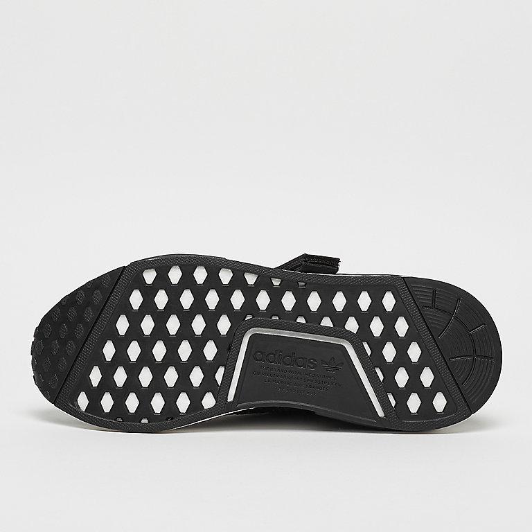 sports shoes e6433 23097 adidas NMDR1 blackblacksolar orange Running bij SNIPES beste