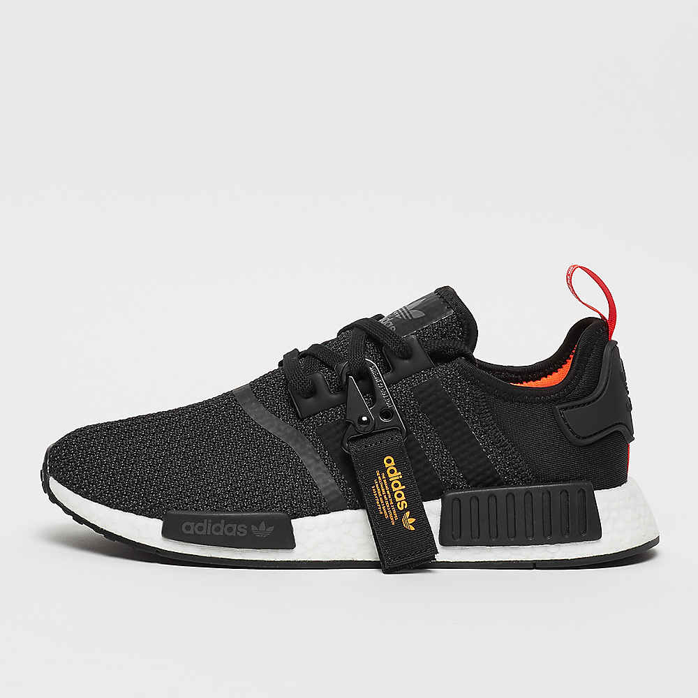NMD_R1 black/black/solar orange