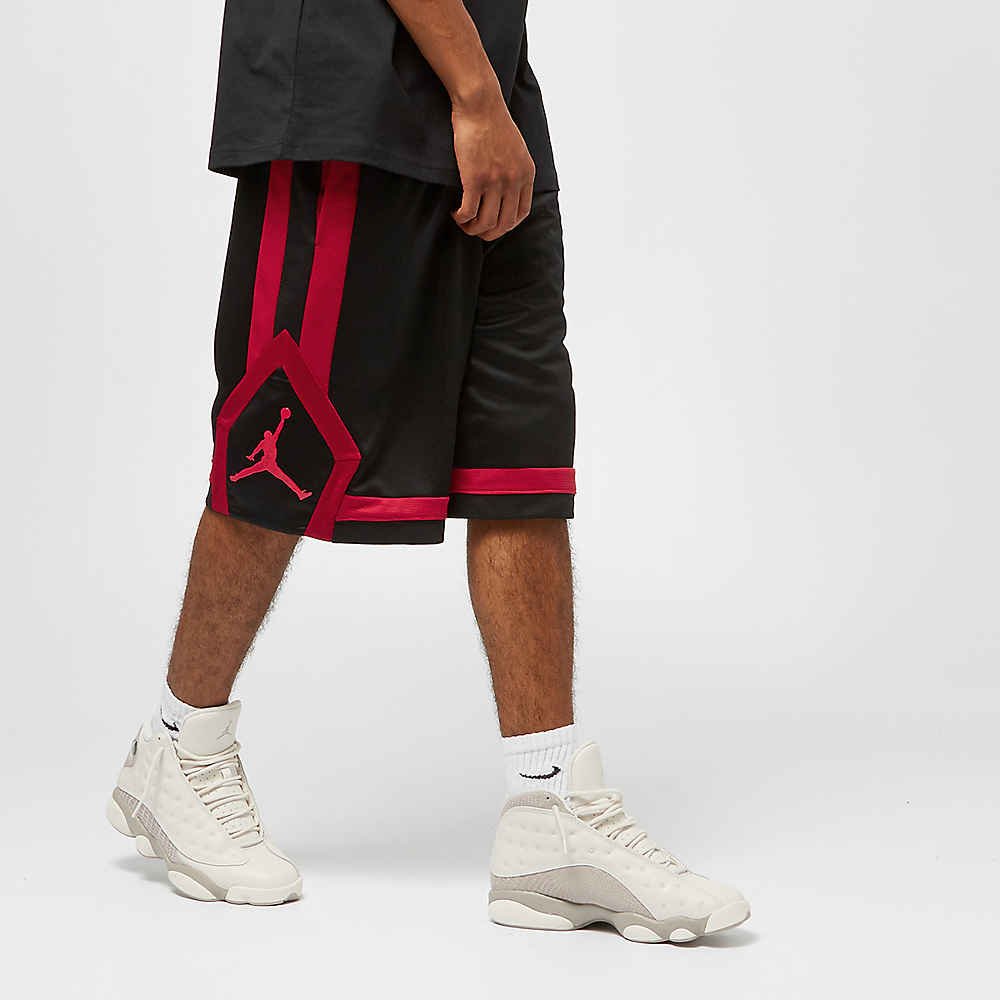 52509aab6d2ff Pantaloncini sportivi JORDAN Rise black gym red su SNIPES